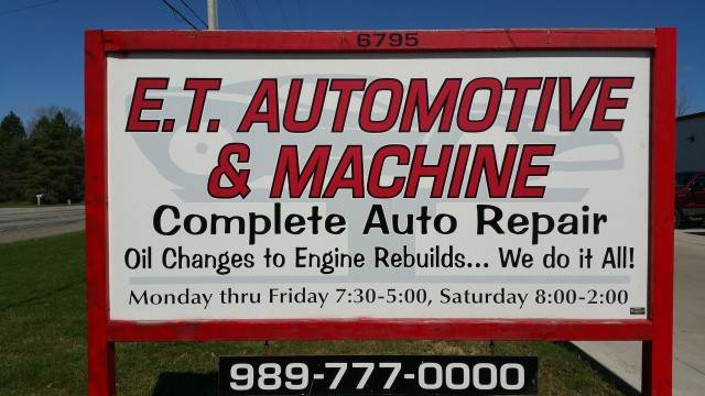 E.T. Automotive & Machine