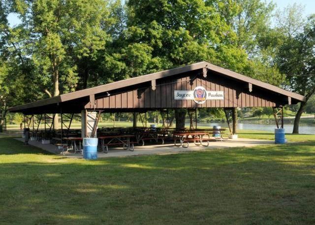 Pavilions in Heritage Park